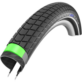 "SCHWALBE Big Ben Plus Wired-on Draadband 24"" GreenGuard SnakeSkin E-50 Performance Reflexband, black"